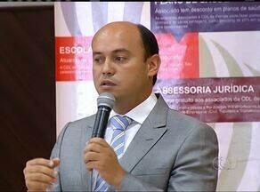 Candidato à reeleição Sandoval Cardoso discute demandas com o setor empresarial - Candidato à reeleição Sandoval Cardoso discute demandas com o setor empresarial