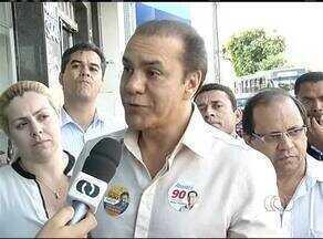 Candidato ao governo Ataídes Oliveira visita empresas em Gurupi - Candidato ao governo Ataídes Oliveira visita empresas em Gurupi