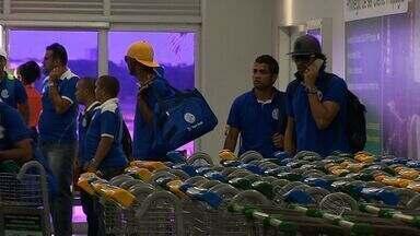 Confiança desembarca em Aracaju após empate fora de casa na Série D - Clube sergipano é o terceiro colorado no grupo A4 do Brasileiro