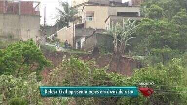 Defesa Civil apresenta ações para áreas de risco do ES - Encontro para apresentar novidades acontece nesta terça-feira (12).