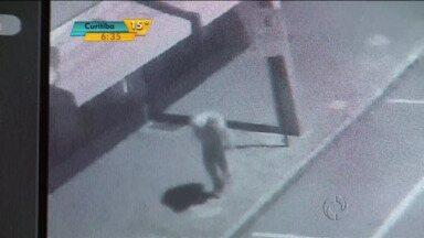 Câmeras em locais públicos ajudam no trabalho dos policiais de Cascavel - Bandidos são identificados com as imagens feitas pelas câmeras.