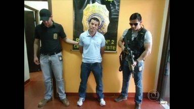 Secretaria antidrogas do Paraguai prende um dos traficantes mais procurados do Rio - José Benemário de Araújo foi preso no centro de Cidade do Leste, na fronteira com o Brasil. Ele era procurado desde fevereiro do ano passado, quando fugiu da prisão.