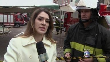 De Santos, Gabriela dá as últimas notícias sobre acidente - Ela explica o trabalho da perícia