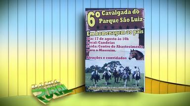 Confira a programação de eventos rurais em toda a Bahia - Sexta Cavalgada do Parque São Luiz é realizada neste domingo (17). Veja informações sobre esse e outros eventos.