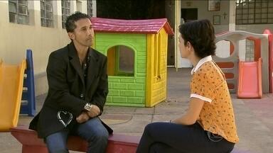 Nádia Bochi conhece Marcelo que mudou de vida através do Projeto Providência - Jornalista também explica como funciona o projeto e conversa com as crianças que são ajudadas