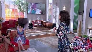 Bruno Gouveia apresenta Letícia, sua filha recém-nascida - Ao lado da mulher Isabela, cantor comemora a chegada da bebê