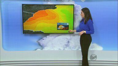 Confira a previsão do tempo para a região de São Carlos neste sábado (16) - Confira a previsão do tempo para a região de São Carlos neste sábado (16)