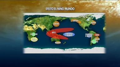 Tempo: El Niño deve se formar novamente este ano - Assista ao vídeo.