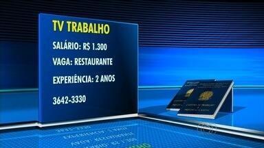 Confira as vagas de emprego em Goiânia - Restaurante oferece vaga com salário de R$ 1,3 mil.