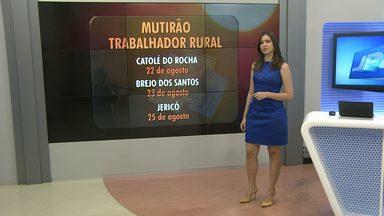 Cinco cidades paraibanas receberão 'mutirão' para retirada de documentos - Ações de serviço serão realizadas no Sertão do Estado.