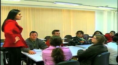 Cursos são criados para atender pessoas com deficiência - Semana Nacional da Pessoa com Deficiência.