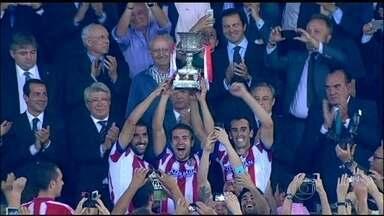 Atlético de Madrid vence Real e fatura Supercopa da Espanha - Mandzukic fez o gol da vitória.