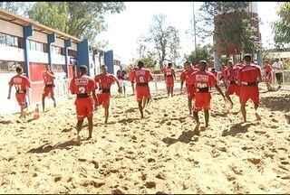 Esporte: Funorte enfrenta a Associação Desportiva de Pedras de Maria da Cruz - Amistoso é neste sábado é serve de preparação para o início do campeonato da Segunda Divisão.