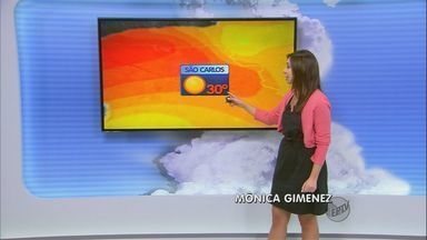 Confira a previsão do tempo na região de São Carlos (SP) - Confira a previsão do tempo na região de São Carlos (SP)