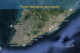 Inema aponta 18 praias impróprias para banho em Salvador e região metropolitana - Rio Vermelho e Buraquinho são algumas delas. Confira.