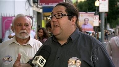 Tarcísio Motta faz campanha na Zona Sul - O candidato do PSOL ao governo fluminense, Tarcísio Motta, fez campanha na Zona Sul do Rio de Janeiro ao longo da semana.
