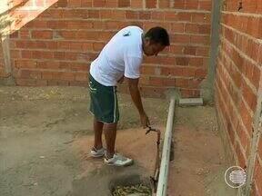 Moradores do Residencial Jacinta Andrade enfrentam falta de água há meses - Moradores do Residencial Jacinta Andrade enfrentam falta de água há meses
