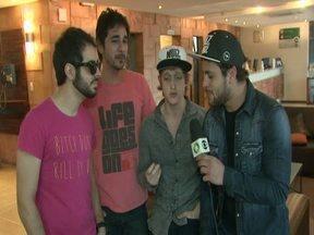 Banda Jamz se apresenta logo mais em Cascavel - Os finalistas do Super Star deram uma palhinha e contaram sobre o show de hoje.