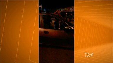 Cabo da PM se descontrola ao ser parado em blitz em São Luís - Veja na reportagem de Werton Araújo