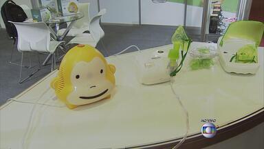 Feira reúne novidades da área de saúde - Vários produtos estão sendo apresentados ao público, no Centro de Convenções.