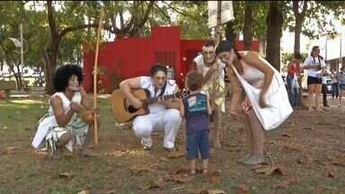 Projeto oferece apresentações culturais em Rondonópolis (MT) - Projeto oferece apresentações culturais em Rondonópolis.