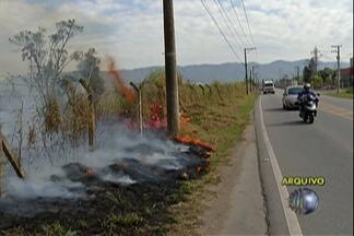 Queimadas cresceram 82% entre 2013 e 2014 em Mogi das Cruzes - Locais de mata, como a Serra do Itapety, são alvos mais difíceis de controlar as chamas.