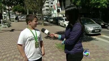 Jovem do sul do Rio fala sobre conquista no Brasileiro de Jiu-Jitsu Desportivo - Luís Fabiano Guimarães Figueiredo, de 10 anos, foi campeão na categoria pesadíssimo. Competição foi na última semana, no Rio de Janeiro.