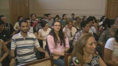 Primeiro simpósio de históra da saúde no Amazonas, em Manaus - Evento reuniu pesquisadores e estudiosos da área.