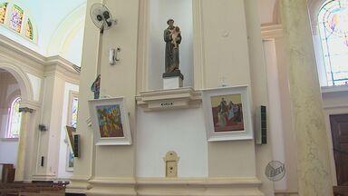 Obras de Cândido Portinari estão de volta à igreja em Batatais - Obras de Cândido Portinari estão de volta à igreja em Batatais