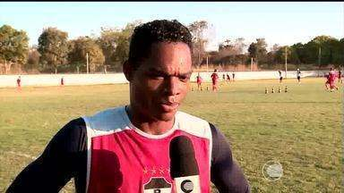 River-PI segue treinando para jogo contra o Remo-MA - River-PI segue treinando para jogo contra o Remo-MA