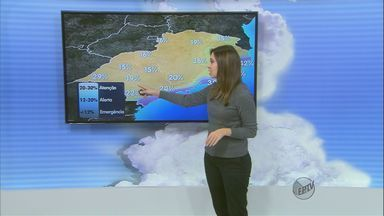 Confira a previsão do tempo para a região de São Carlos nesta sexta-feira (5) - Confira a previsão do tempo para a região de São Carlos nesta sexta-feira (5)
