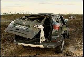 Sete pessoas ficaram feridas em um acidente na PE-628 - As vítimas foram levadas ao Hospital Universitário de Petrolina.