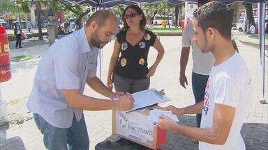 Candidato Zé Gomes cumpre agenda de campanha no Recife - Candidato Zé Gomes cumpre agenda de campanha no Recife
