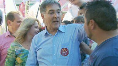 Fernando Pimentel (PT) cumpre agenda em Três Corações e Alfenas - Fernando Pimentel (PT) cumpre agenda em Três Corações e Alfenas