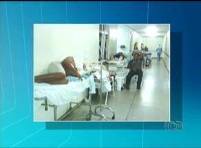 Apesar de novos leitos, MPE constata superlotação no Hospital Regional de Araguaína - Apesar de novos leitos, MPE constata superlotação no Hospital Regional de Araguaína
