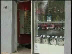 Polícia ainda procura suspeitos de assaltar loja em Lages - Polícia ainda procura suspeitos de assaltar loja em Lages