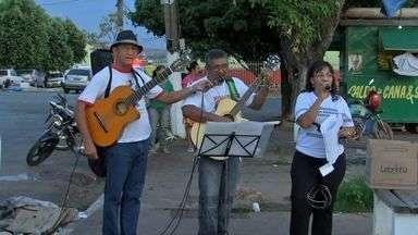 Movimentos sociais participam do Grito dos Excluídos em Cuiabá - Alguns movimentos sociais participaram do Grito dos Excluídos em Cuiabá.