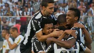 Atlético-MG derrota o Botafogo no Independência - Mesmo desfalcada, equipe mineira conseguiu a vitória em casa
