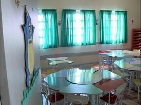 Alunos da educação infantil do Pestano recebem nova escola - Novo prédio é inaugurado pela Prefeitura