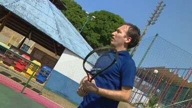 Conheça o operário que venceu mais etapa do tênis dos Jogos do Sesi - Marcelo Gublielmini competirá se classificou para a etapa nacional.
