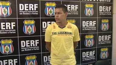 'Tínhamos desistido', diz preso por morte de segurança de político no AM - Jovem se entregou à polícia na tarde desta quarta-feira (10), em Manaus. Jhonatan Paiva Costa, de 18 anos, dirigia a motocicleta usada no crime.