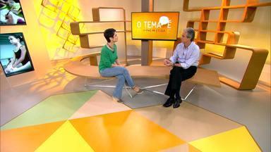 O tema é....pais na escola - Sandra Annenberg recebe o especialista em Educação, Mozart Neves Ramos