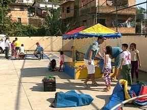 Comunidades do Morro da Cruz recebem atividades e serviços - Comunidades do Morro da Cruz recebem atividades e serviços