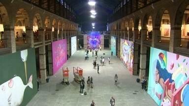 Confira as dicas do Programão - A arte tomou conta do Rio de Janeiro. Por isso, nada melhor do que duas dicas de feiras culturais para o fim de semana. A zona portuária é palco da ArtRio. Já a ArtRua reúne painéis de arte urbana.