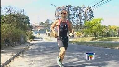 Um atleta amador de Taubaté foi destaque em uma das etapas do Ironman - Um atleta amador de Taubaté foi destaque em uma das etapas do Ironman, uma prova de Triatlon considerada uma das mais difíceis do mundo.