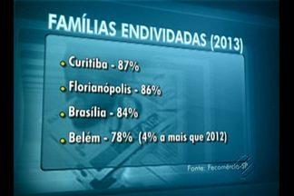 Pesquisa mostra que Belém está entre as capitais com maior número de famílias endividadas - Problema pode ser superado com educação financeira.