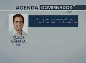 Veja a agenda dos candidatos ao governo de PE para este sábado (13) - Horário eleitoral para governo estadual teve início em 20 de agosto.