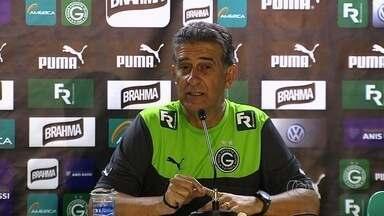 Técnico tenta acabar com mau retrospecto do Goiás em Criciúma - Ex-treinador do próprio time catarinense, Ricardo Drubscky espera sair do estádio Heriberto Hülse com os três pontos neste domingo.