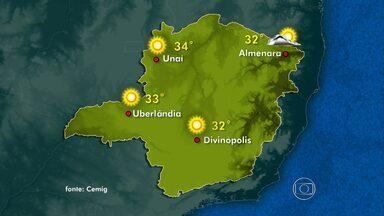 Domingo deve ser de sol em boa parte do estado - Veja previsão do tempo