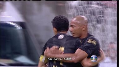 Pela Série B, o Náutico venceu o Ceará por 2 a 1, sexta à noite, na Arena Pernambuco - Sassá fez dois gols do Timbu. No segundo tempo, Magno Alves aproveitou o rebote e diminuiu a diferença.